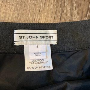 St. John Sport by Marie Gray Skirts - St. John Sport Wool Skirt
